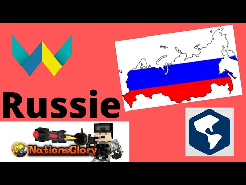 JE VOUS PRESENTE LA RUSSIE CYAN!!NationsGlory