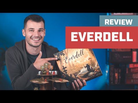 Everdell Board Game Review I Friendly Worker Placement Tableau Building Game