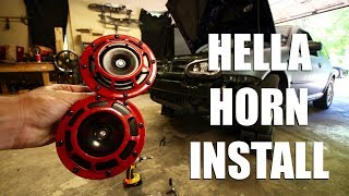 How to Install Aftermarket Hella Horns