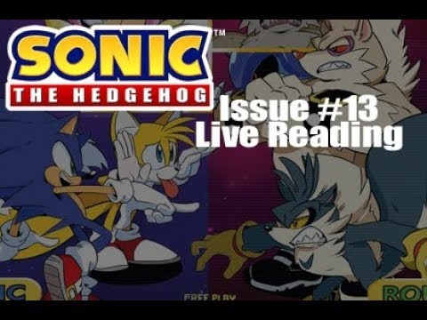 Sonic Idw Issue 13 Live Reading Youtube
