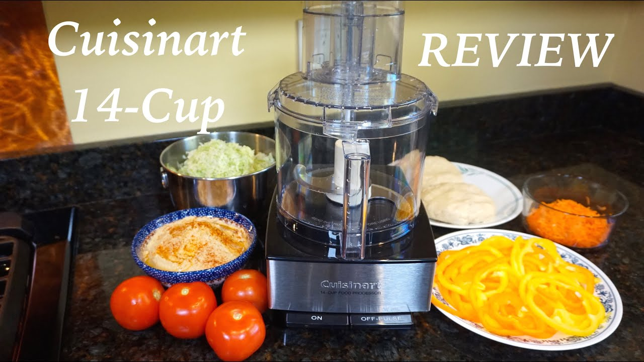 Cuisinart 14 Cup Food Processor Review   YouTube