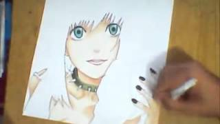 speed drawing- misa amane