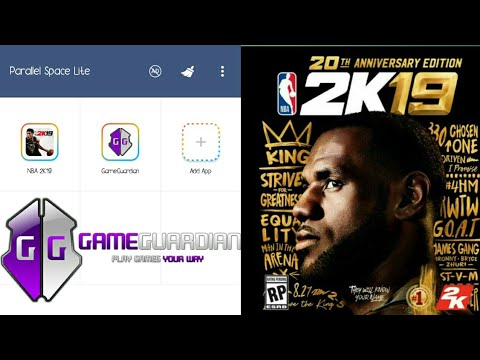 How to download and install gameguardian/virtual apps NO ROOT for NBA2k19  Mobile Android