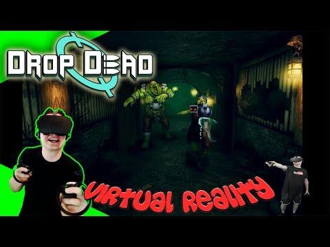 Drop Dead - Geiles Geballer Auf Schienen! [Let's Play][Gameplay][German][Rift][Virtual Reality]