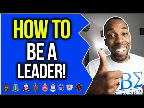 HOW TO BE A LEADER! | NPHC ADVICE | COREY JONES