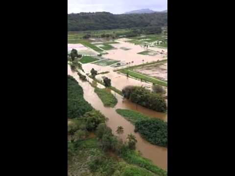 Hanalei Flooding courtesy Kauai County