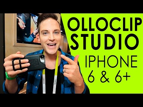 OlloClip Studio — OlloClip iPhone 6 Case for Mobile Photography