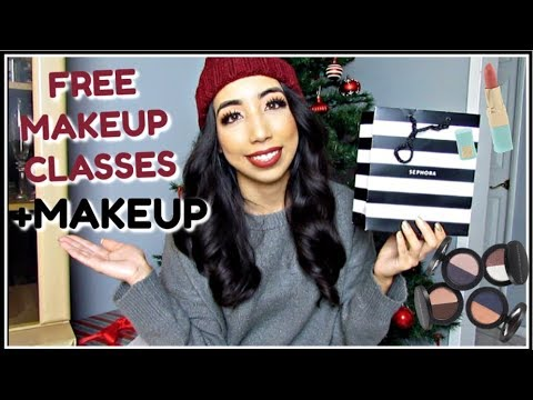 free-sephora-makeup-class-&-makeup!