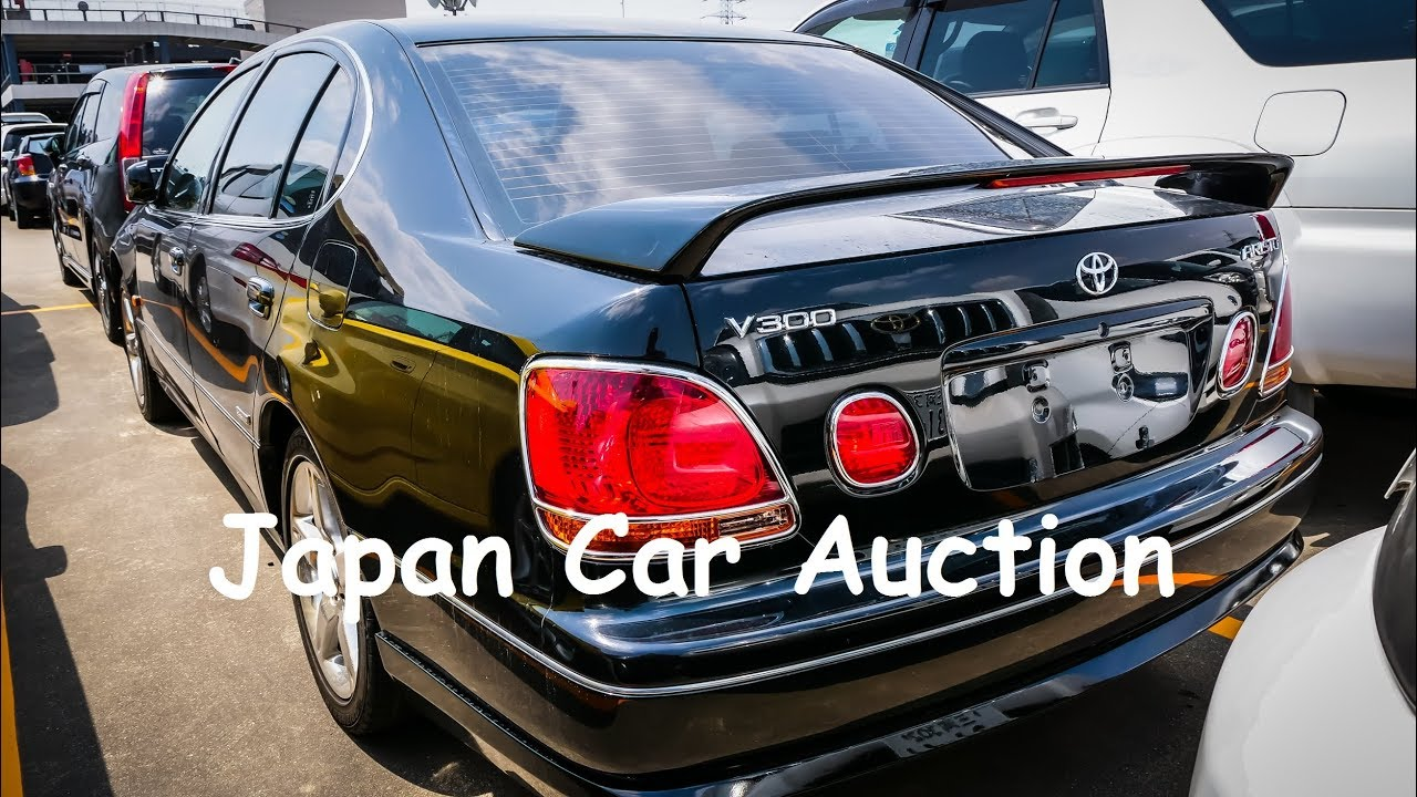 Japan Car Auction   2001 Toyota Aristo 3 0 Twin Turbo Vertex Edition