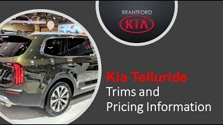 Kia Telluride New Trims and Pricing Information