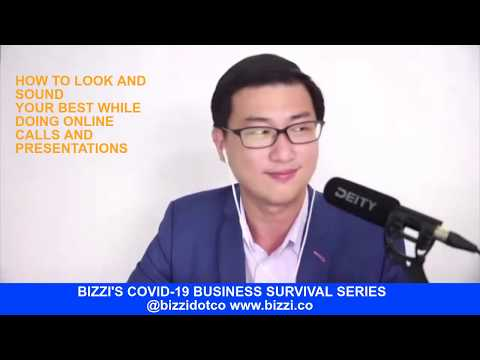 EP 18 - HOW TO LOOK AND SOUND YOUR BEST WHILE DOING ONLINE CALLS AND PRESENTATIONS.