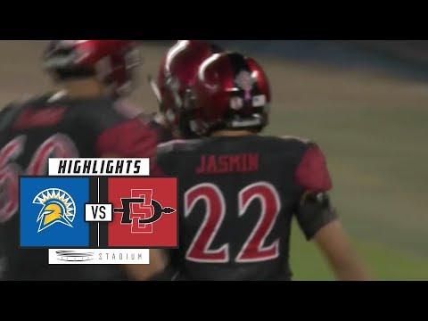San Jose State vs. San Diego State Football Highlights (2018) | Stadium