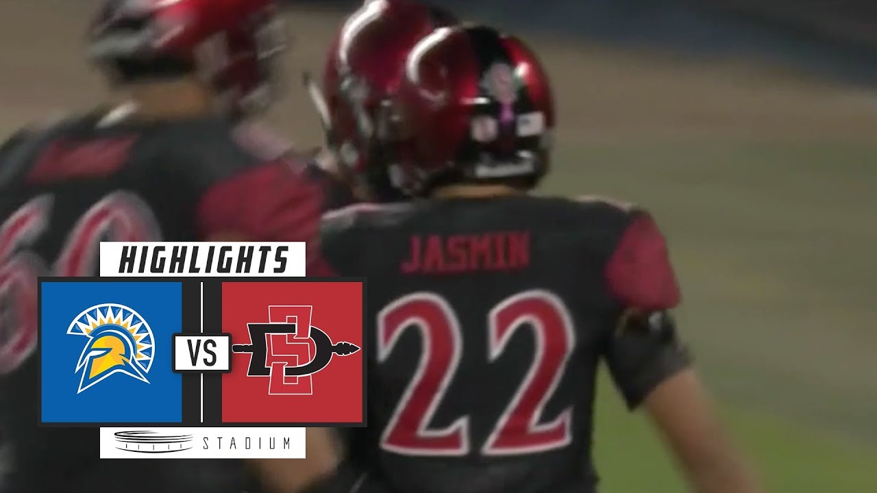 cheap for discount d988b f8336 San Jose State vs. San Diego State Football Highlights (2018) | Stadium