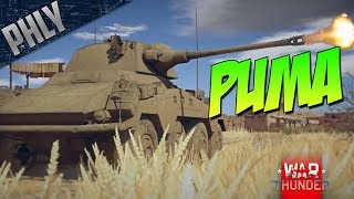A New KITTY - Sonderkraftfahrzeug PUMA (War Thunder 1.69 Tanks Gameplay)