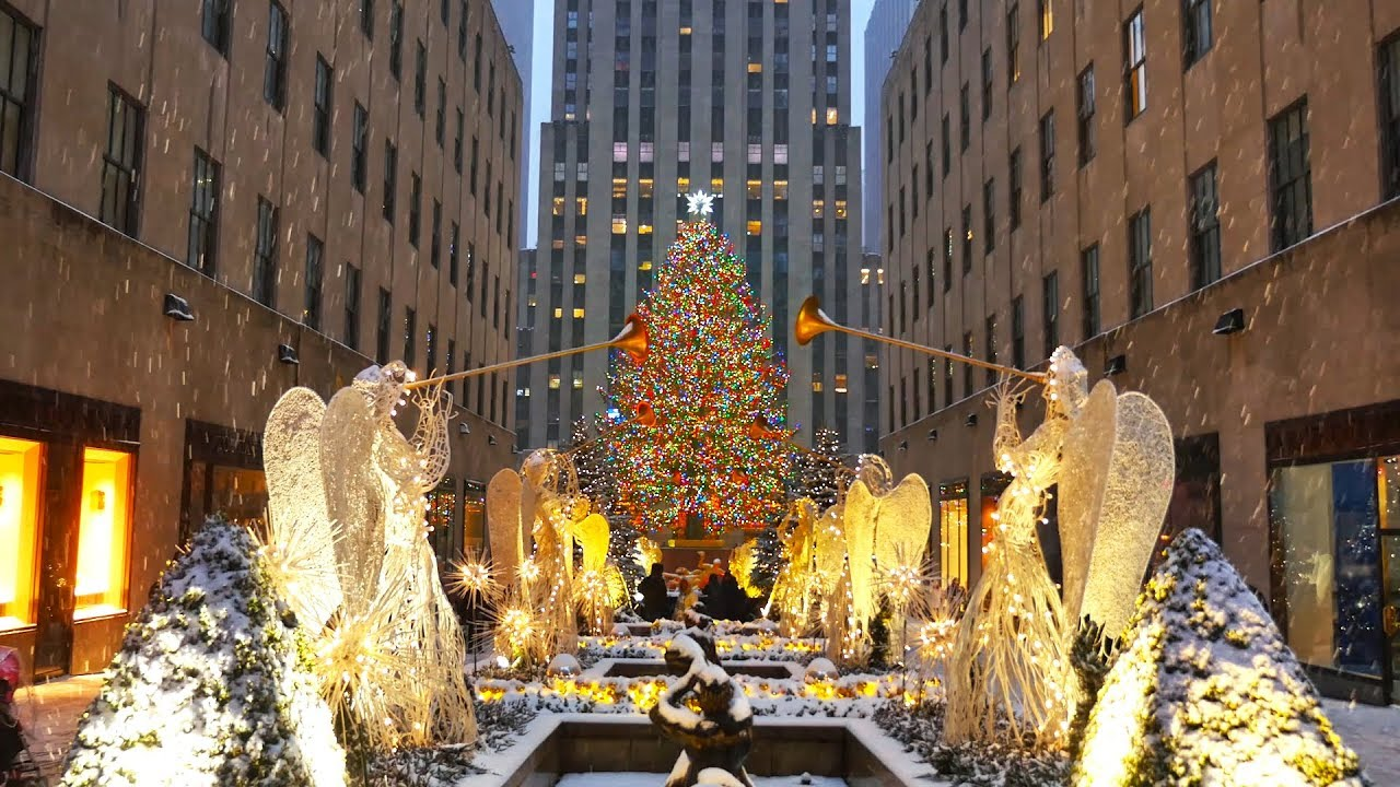 New York During Christmas Time.Holidays In New York City Christmas Time In The City That Never Sleeps