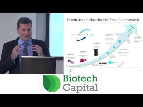 Sinclair Pharma's Chris Spooner presents at the Biotech Capital Conference