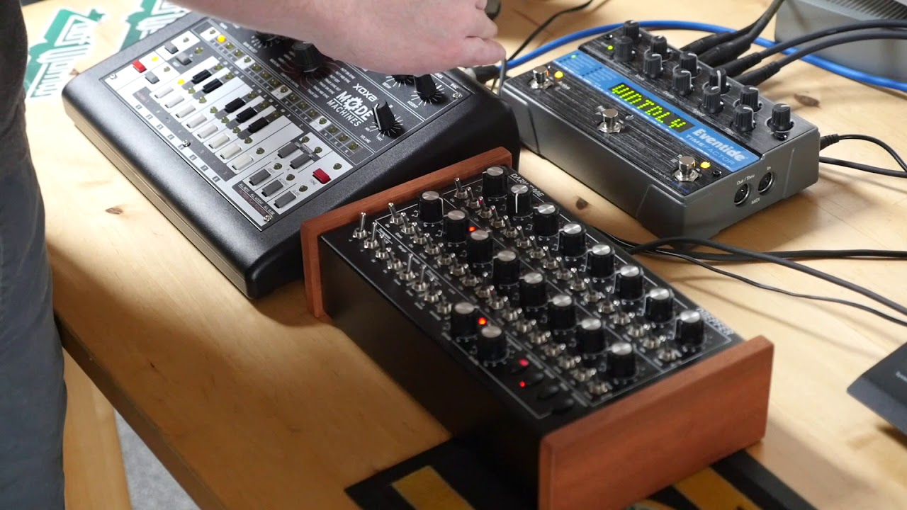 MODE MACHINES x0xb0x MK3 FINAL EDITION (James Welsh User Session 2)