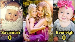 Savannah and Everleigh From Baby to Child and Adult