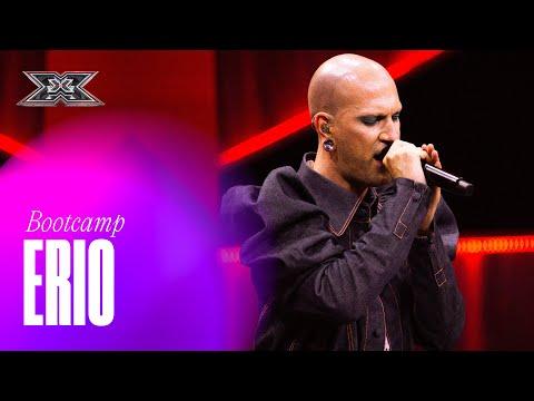 X Factor 2021 BOOTCAMP 1 | Erio canta per la prima volta AMORE VERO davanti a Manuel Agnelli