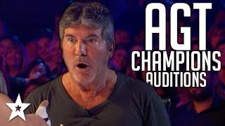The Champions on America's Got Talent 2019 Auditions WEEK 1 Got Talent Global