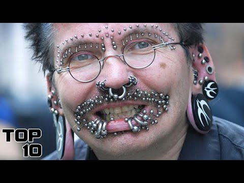 Top 10 Insane Body Piercings - Part 2
