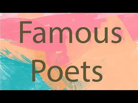 Famous Poets | Authors On Writing