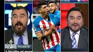 ENLOQUECIDO. 'A Chivas no le sirvieron de nada los goles de Pulido': Álvaro Morales | Futbol Picante