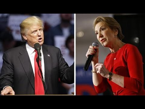 Fighting Words: Carly Fiorina vs. Donald Trump