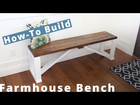 how-to-build-a-farmhouse-bench-|-diy-project-|-woodworking-projects