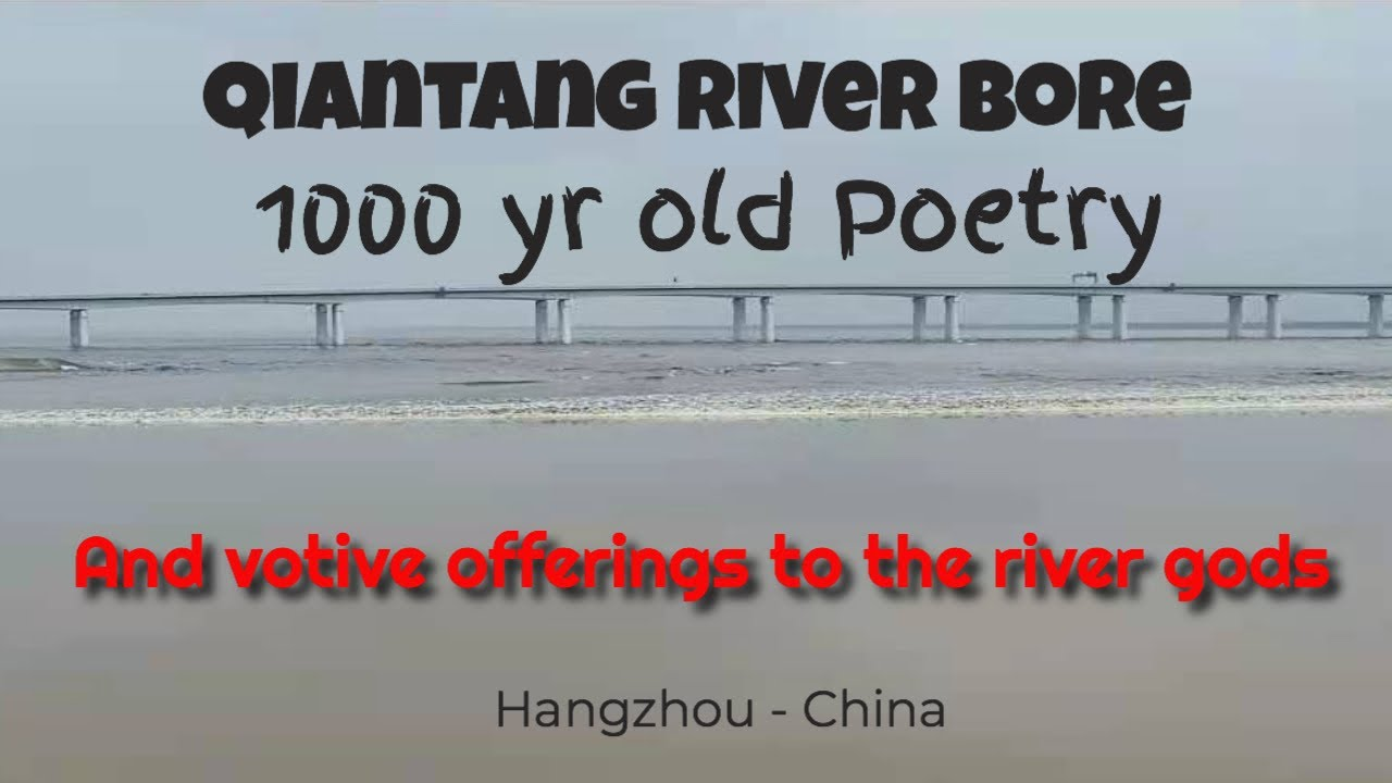 Qiantang River in full bore