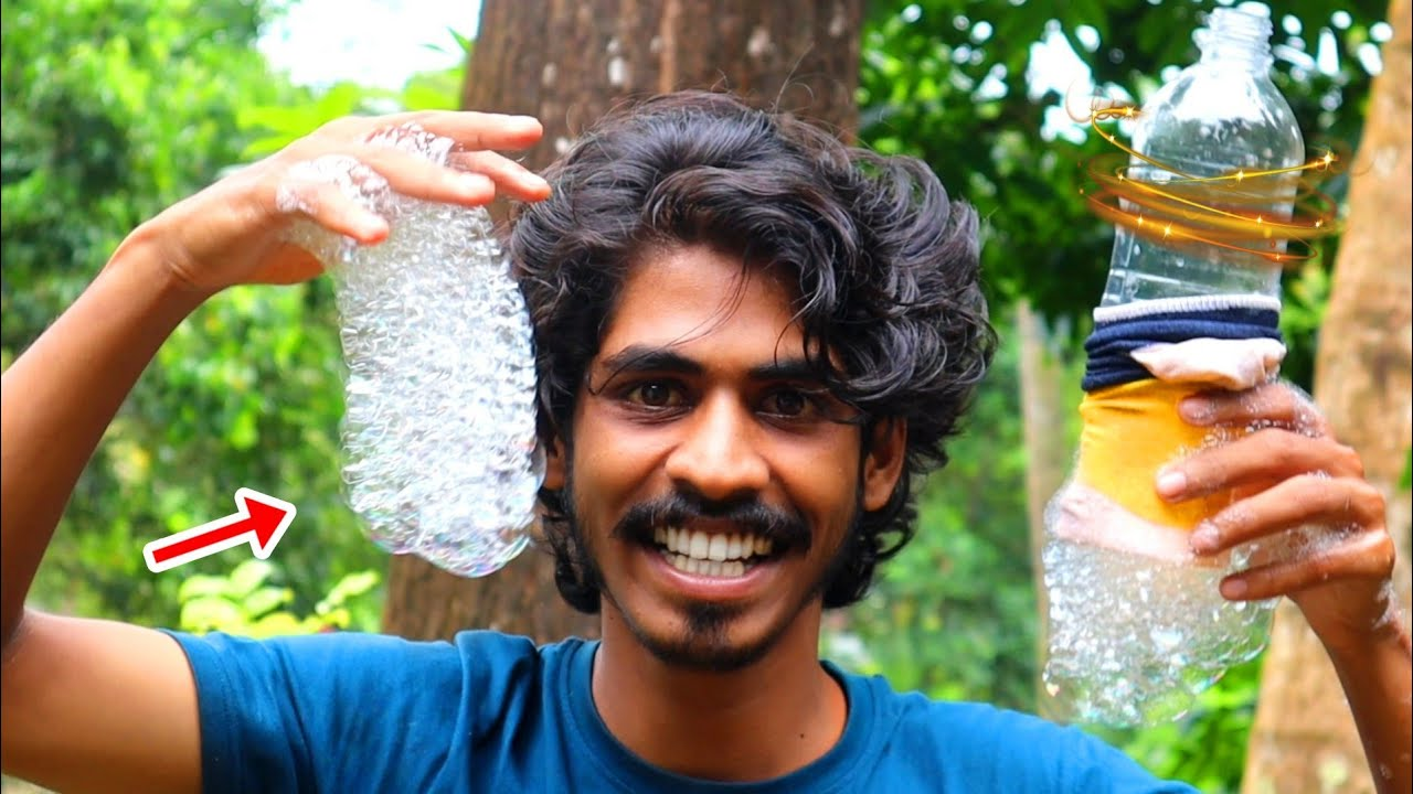 2 AMAZING TOYS USING PLASTIC BOTTLE   Arjun talks