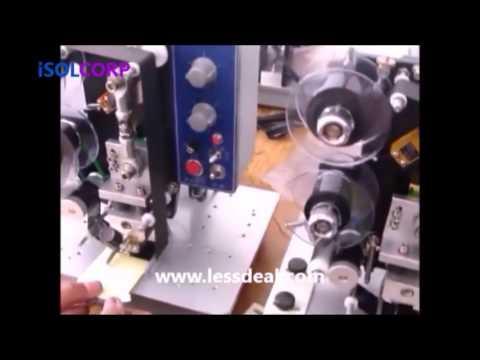 Semi automatic Electric Hot Stamp Ribbon Coding Printer Coder LD 241B  - Call: +91-9654171737