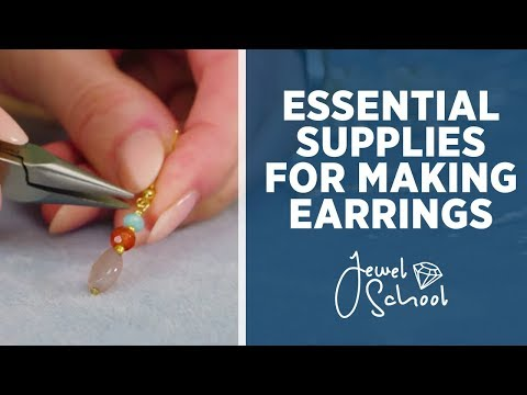 essential-supplies-for-making-earrings-|-jewelry-101