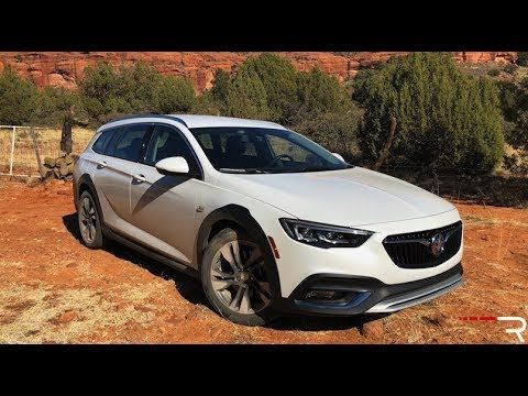 2018 Buick Regal Tourx Redline Review Youtube