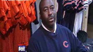 Sports-O-Zone in Chicago Bears locker room 4-11-10.flv