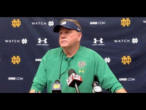 Brian Kelly Updates Ian Book's Status And More