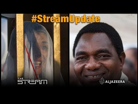 #StreamUpdate: Lebanon rape law scrapped and Zambia's Hichilema free | The Stream