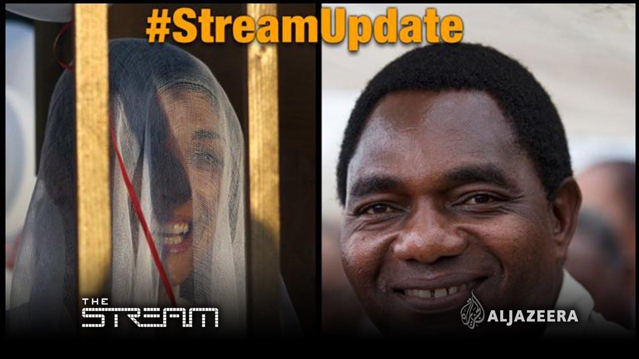 The Stream - #StreamUpdate: Lebanon rape law scrapped and Zambia's Hichilema free