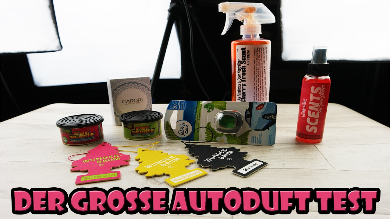 Der Große Auto Duft Test California Car Scents Shiny Chiefs Febreze