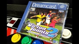 Classic Game Room - VIRTUA TENNIS 2 review for Sega Dreamcast