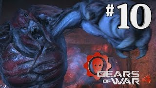 GEARS OF WAR 4 CARRIER FIGHT - GoW4 Walkthrough Part 10 - Xbox One Gameplay