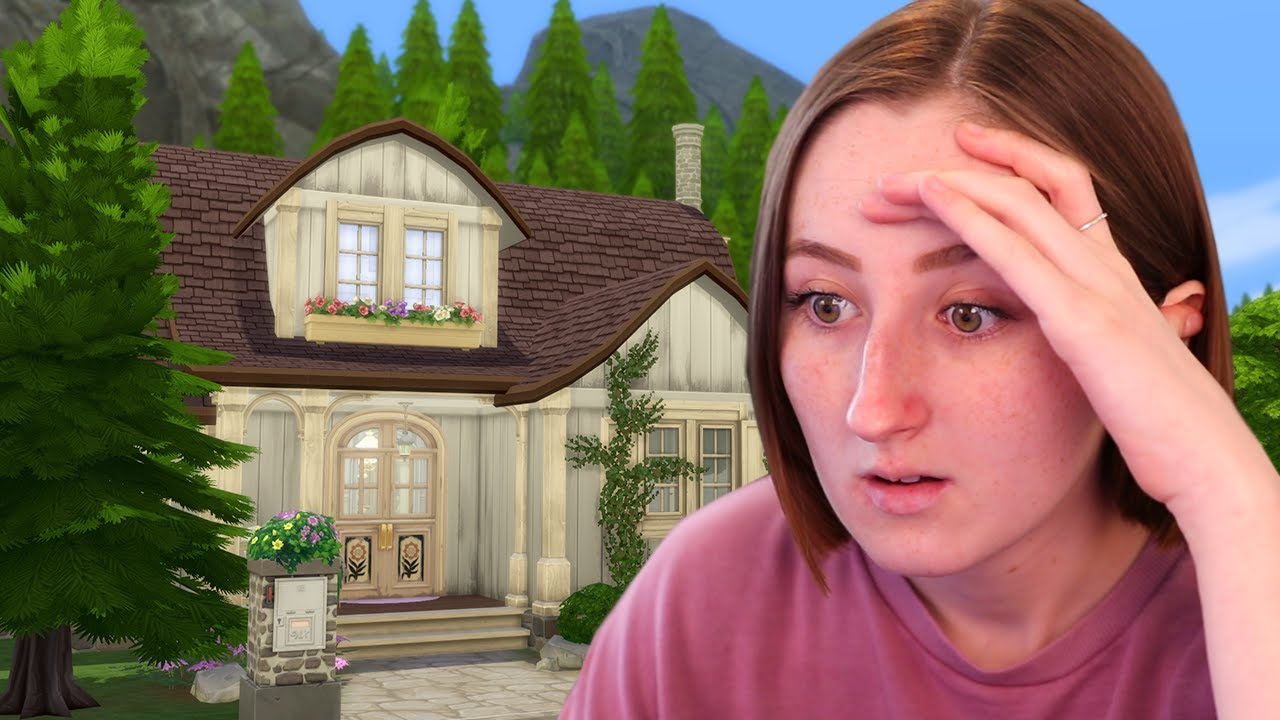 I tried EA's Official Build Challenge for The Sims 4 thumbnail