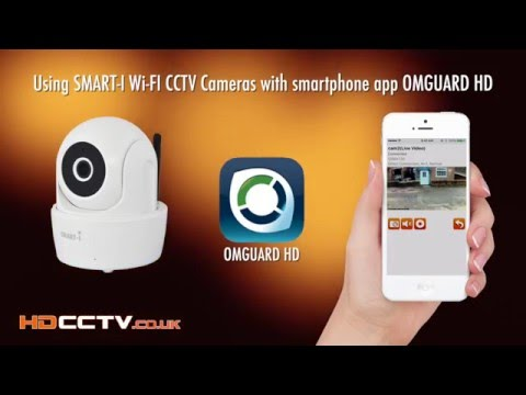 Wi-Fi CCTV Security Cameras & Smartphone App OMGUARD HD - System Demo & Set Up Guide