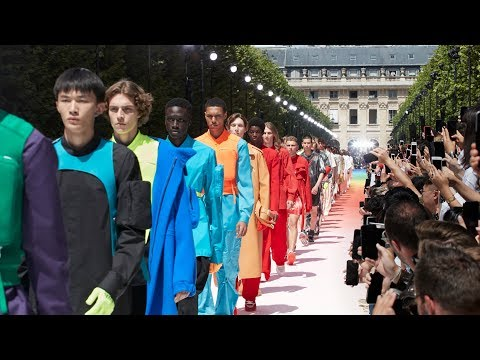 Highlights from Louis Vuitton Men's Spring-Summer 2019…