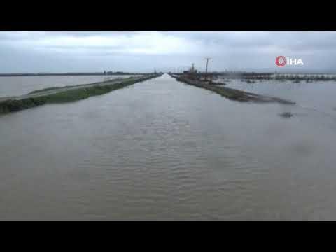 Hatay'da baraj kapakları açıldı, mahalleri su bastı Hatayinternettv.com