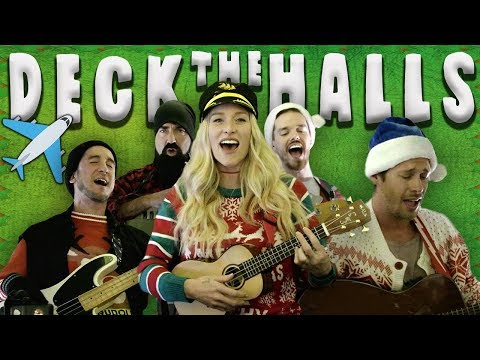 Deck The Halls - Walk Off The Earth (40,000 Feet In The Air!)