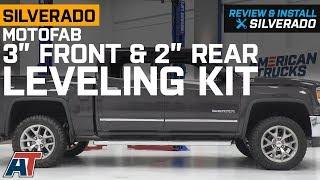 "Video 2007-2018 Silverado MotoFab 3"" Front & 2"" Rear Leveling Kit Review & Install download MP3, 3GP, MP4, WEBM, AVI, FLV Oktober 2019"