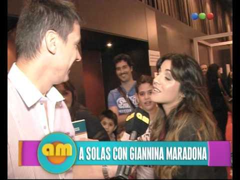 Giannina Maradona 2013 Giannina Maradona habl...