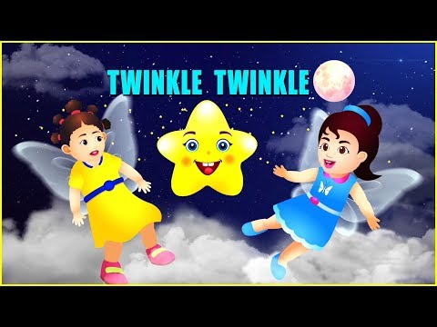 Twinkle Twinkle Little Star Animation Video  | Animation Video |  English Nursery Rhymes | API Kids