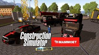 Construction Simulator 2015 - Mammoet Mod Paketi (Steam Atölye)
